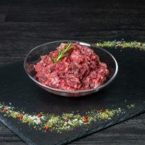 Fleisch von der Bio-Ente, mit Knochen gewolft – pro kg