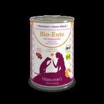 Herrmann's Bio Ente mit Süßkartoffeln – 400g