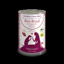 Herrmann's Bio-Rind mit Süßkartoffeln – 400g