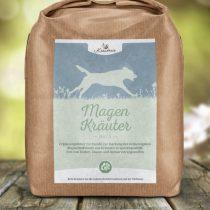 Magen-Kräuter für Hunde, geschnitten – 250g