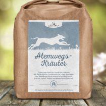 Atemwegs-Kräuter für Hunde, geschnitten – 250g
